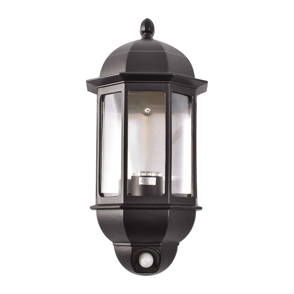 Matt Finish Aluminium Five Panel Half Lantern