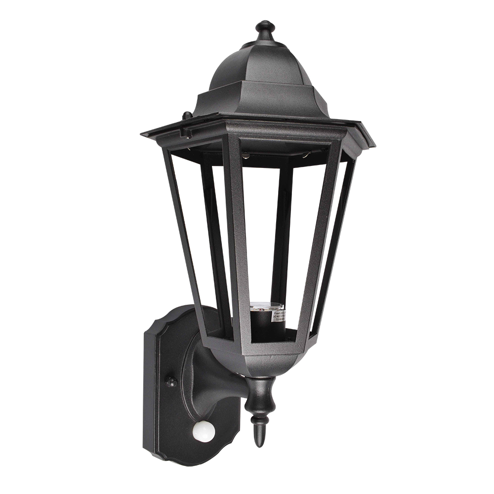 Black Aluminium Large Traditional Lantern