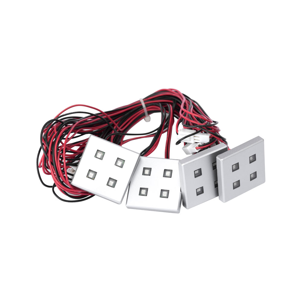 Square LED Plinth Light Kits