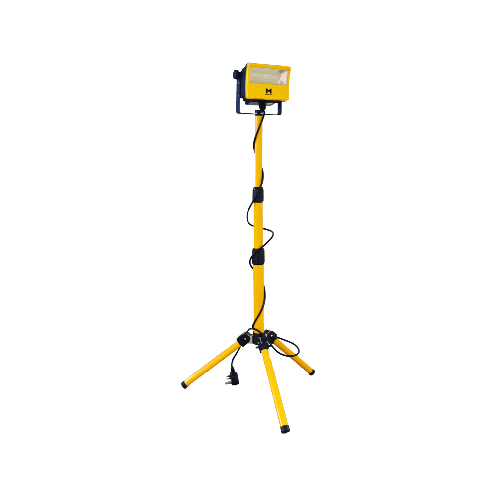 50W Mains LED Work Light w/ Tripod