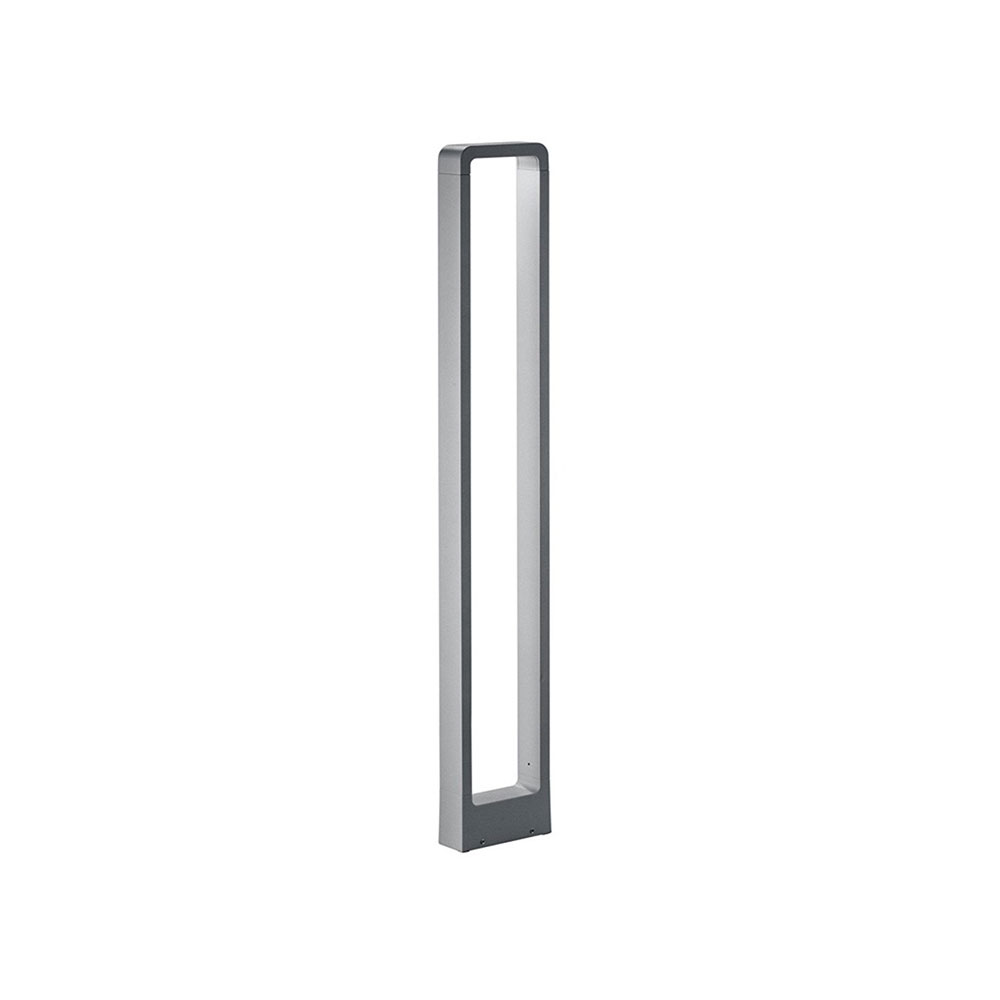 Reno Tall Rectangle Aluminium LED Bollard