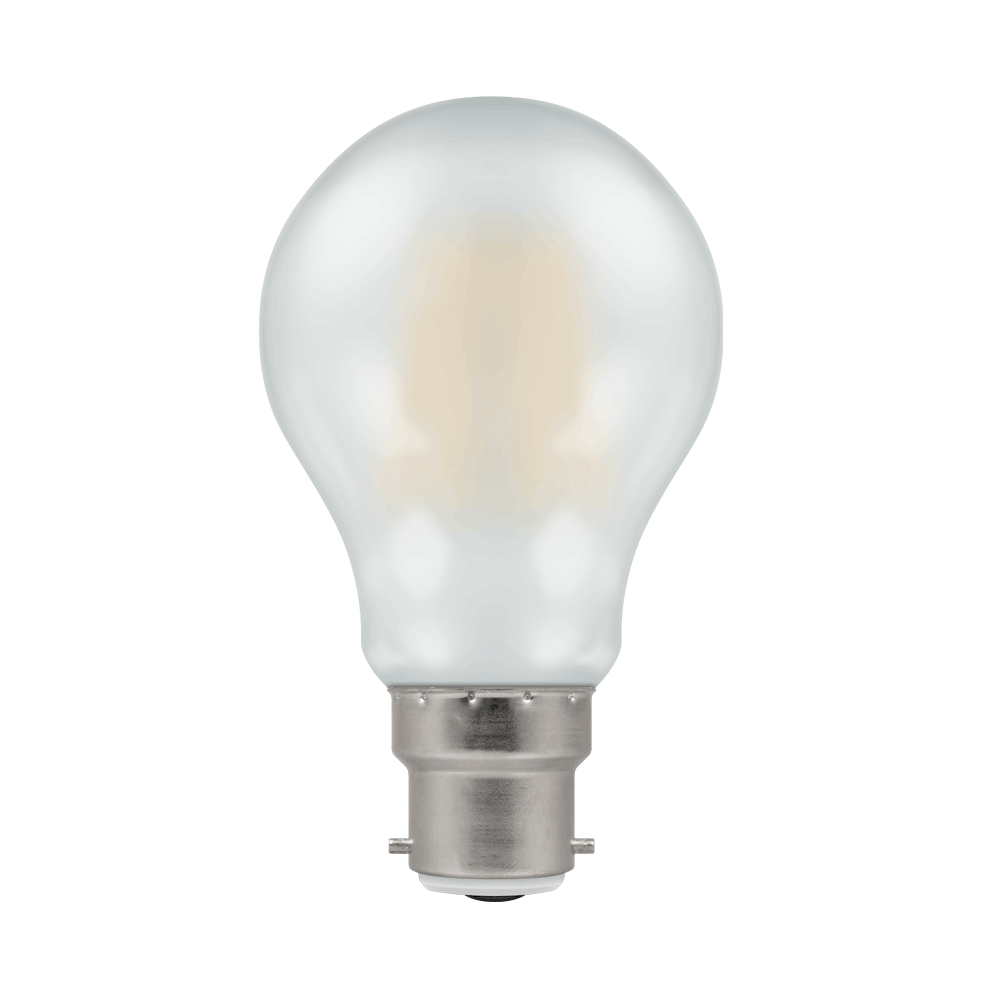 LED FILAMENT GLS PEARL DIMMABLE BC