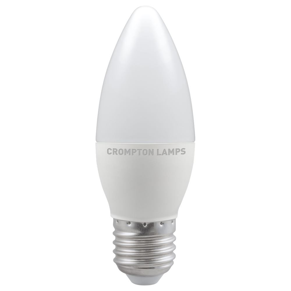 LED Candle Thermal Plastic Non-Dimmable E27