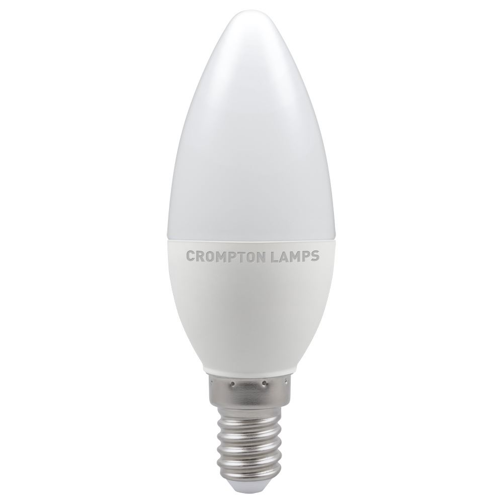LED Candle Thermal Plastic Non-Dimmable E14