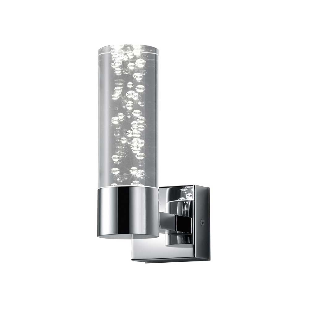 Bolsa Single Bubble Cylinder LED Wall Light