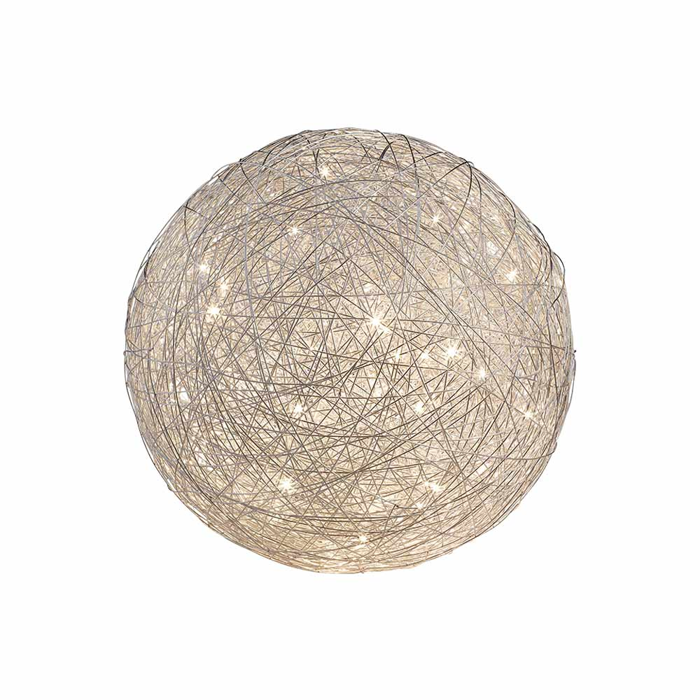 Thunder Large Round Mesh Table Lamp