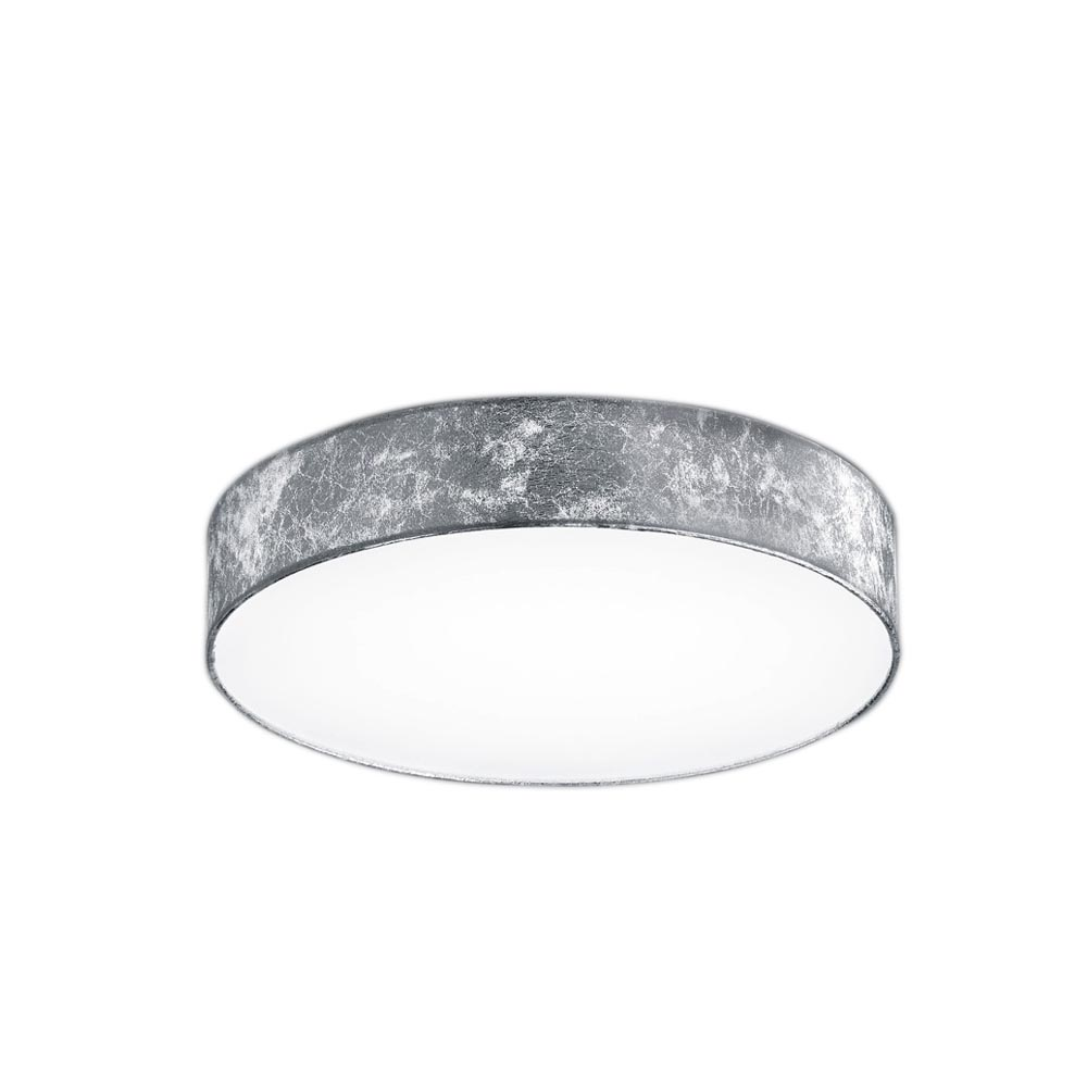 Lugano Small Plastic Foil Shade LED Ceiling Light