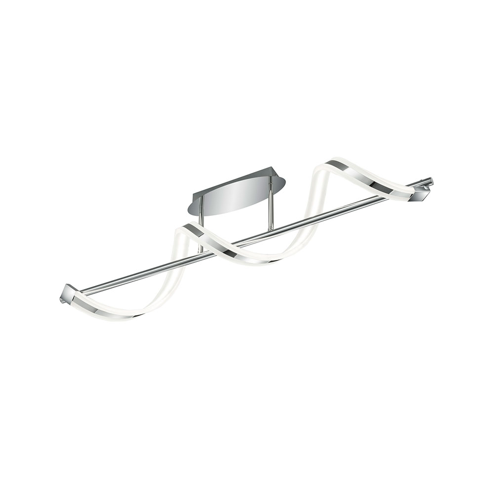 Sydney Twisted Bar LED Ceiling Light