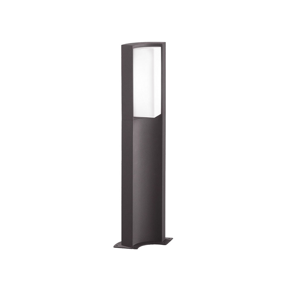 Suez Short Curved LED Bollard