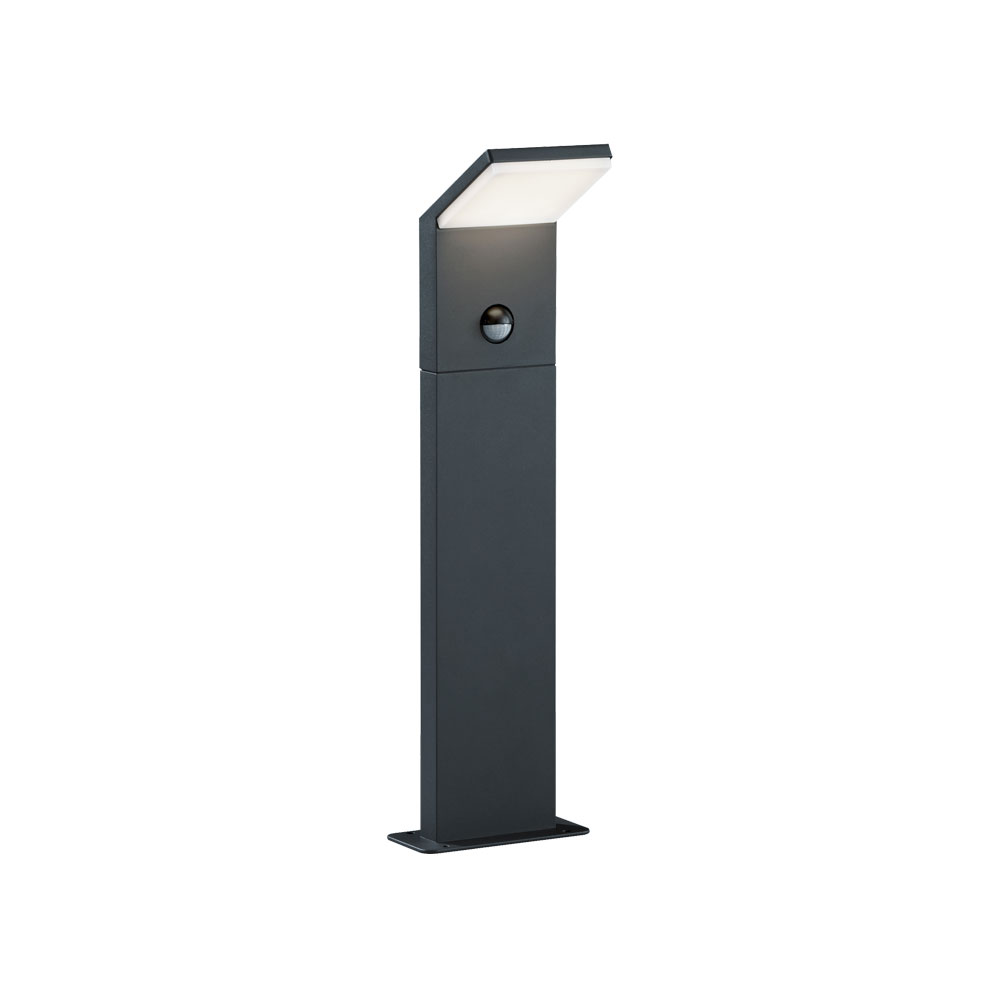 Pearl Short Angled LED Bollard With PIR