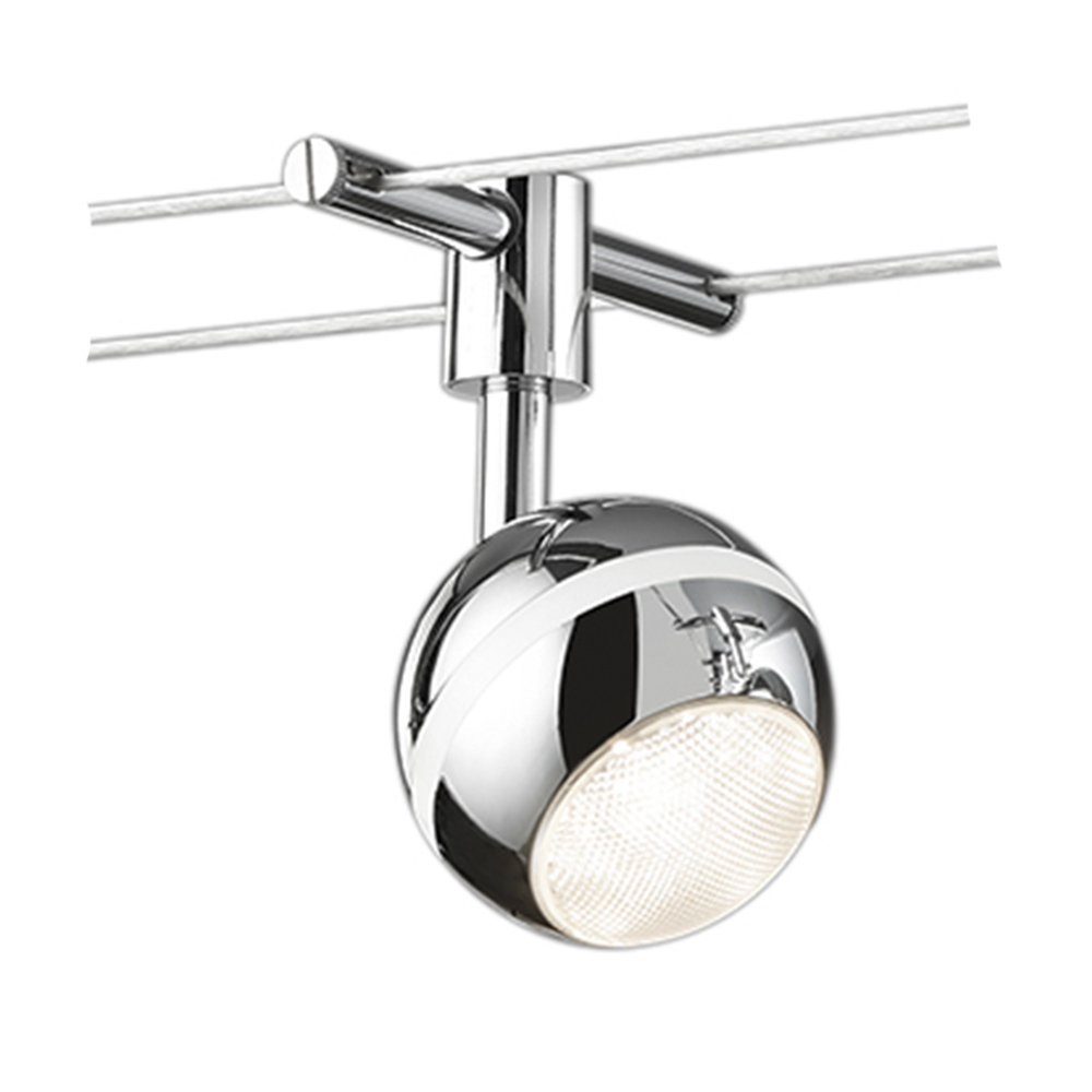 Baloubet Chrome Sphere LED Spotlight