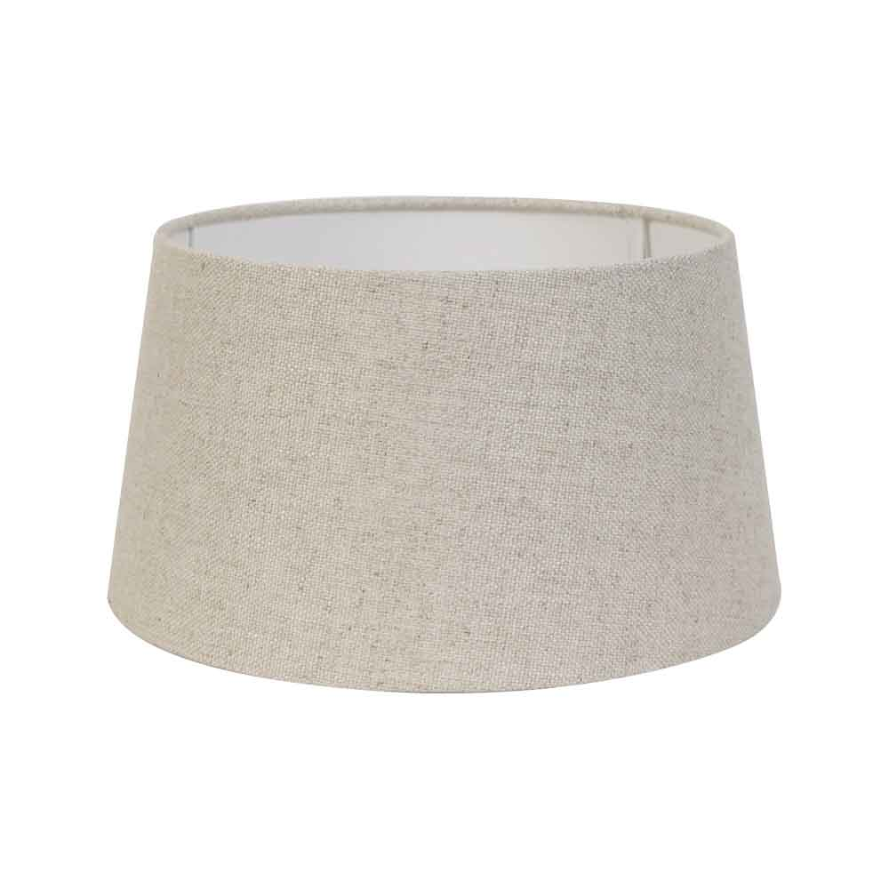 Extra Large Livigno Round Natural Textile Shade