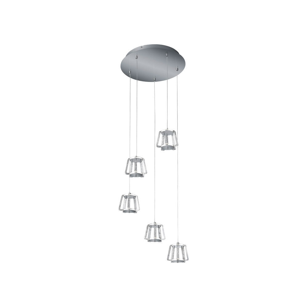 Quirl Five Lamp Pendant