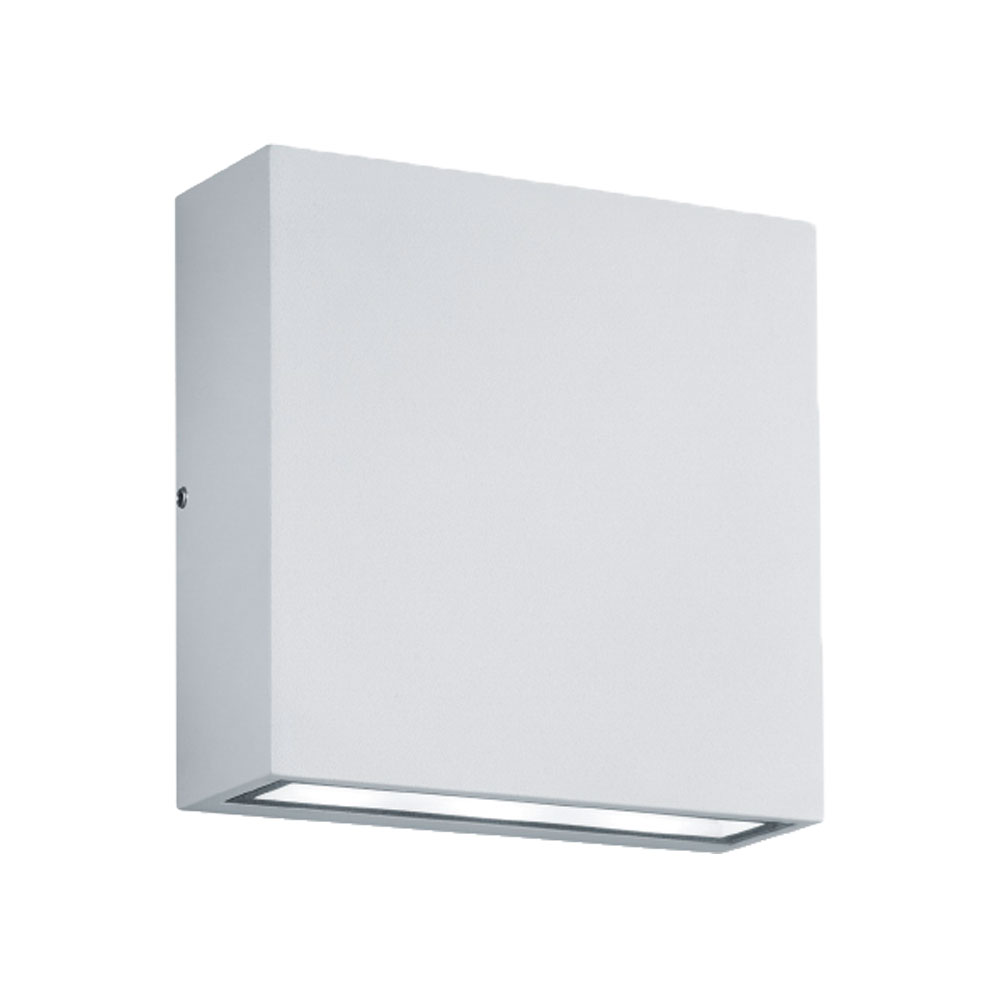 Thames Thin Square Up & Down LED Wall Light