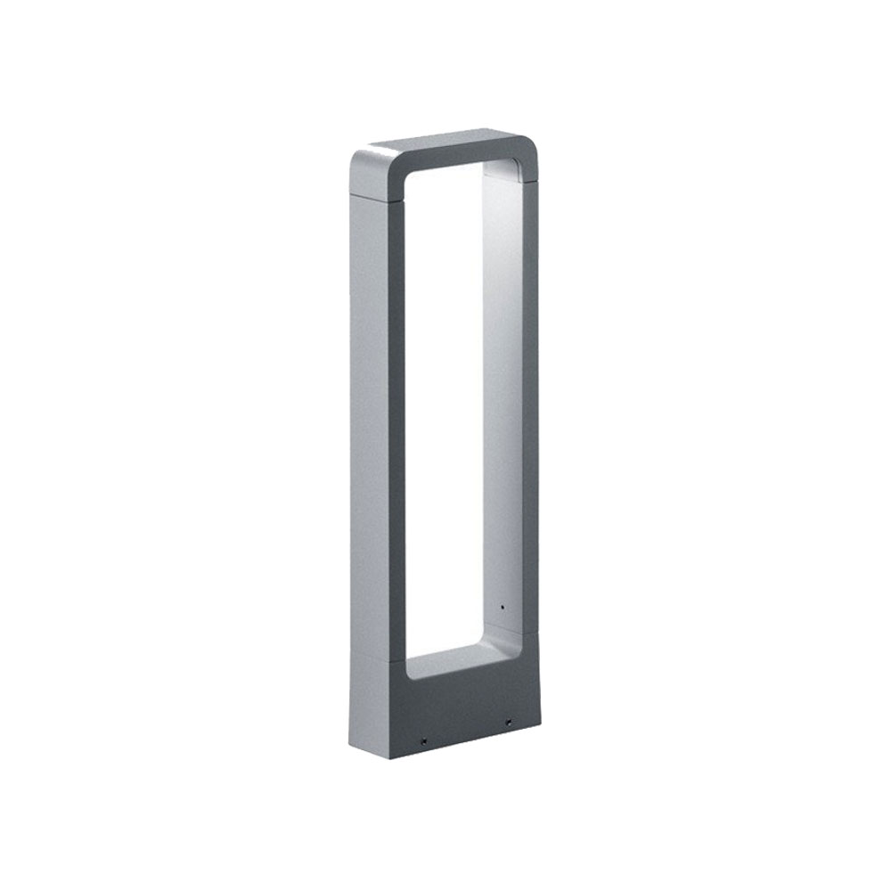 Reno Short Rectangle Aluminium LED Bollard