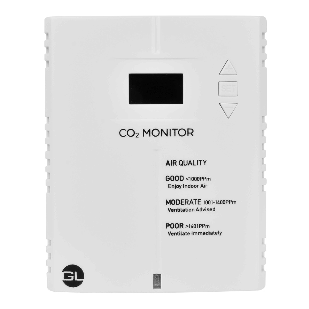 Carbon Dioxide (CO2) Monitor & Alarm