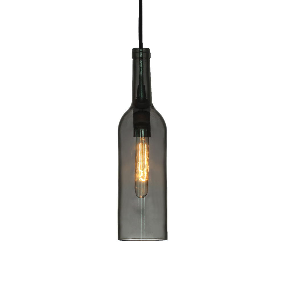 Bottle Pendant Black