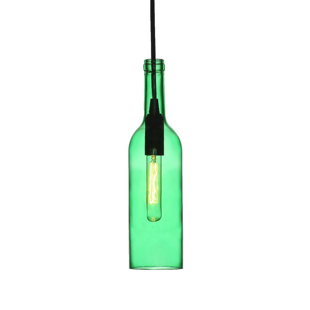 Glass Bottle Pendant