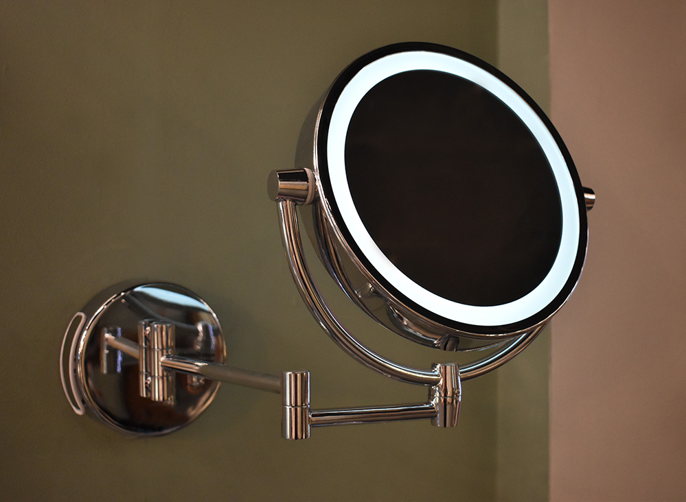 Medyan LED Bathroom Double Sided Mirror