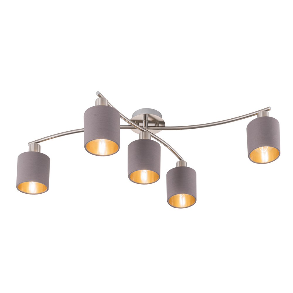 Garda 5-Lamp Ceiling Light