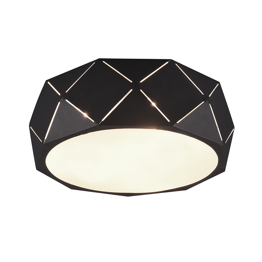 Black Zandor Ceiling Lamp