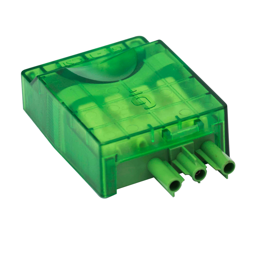 Screwless Terminal Push-on Mains Connector