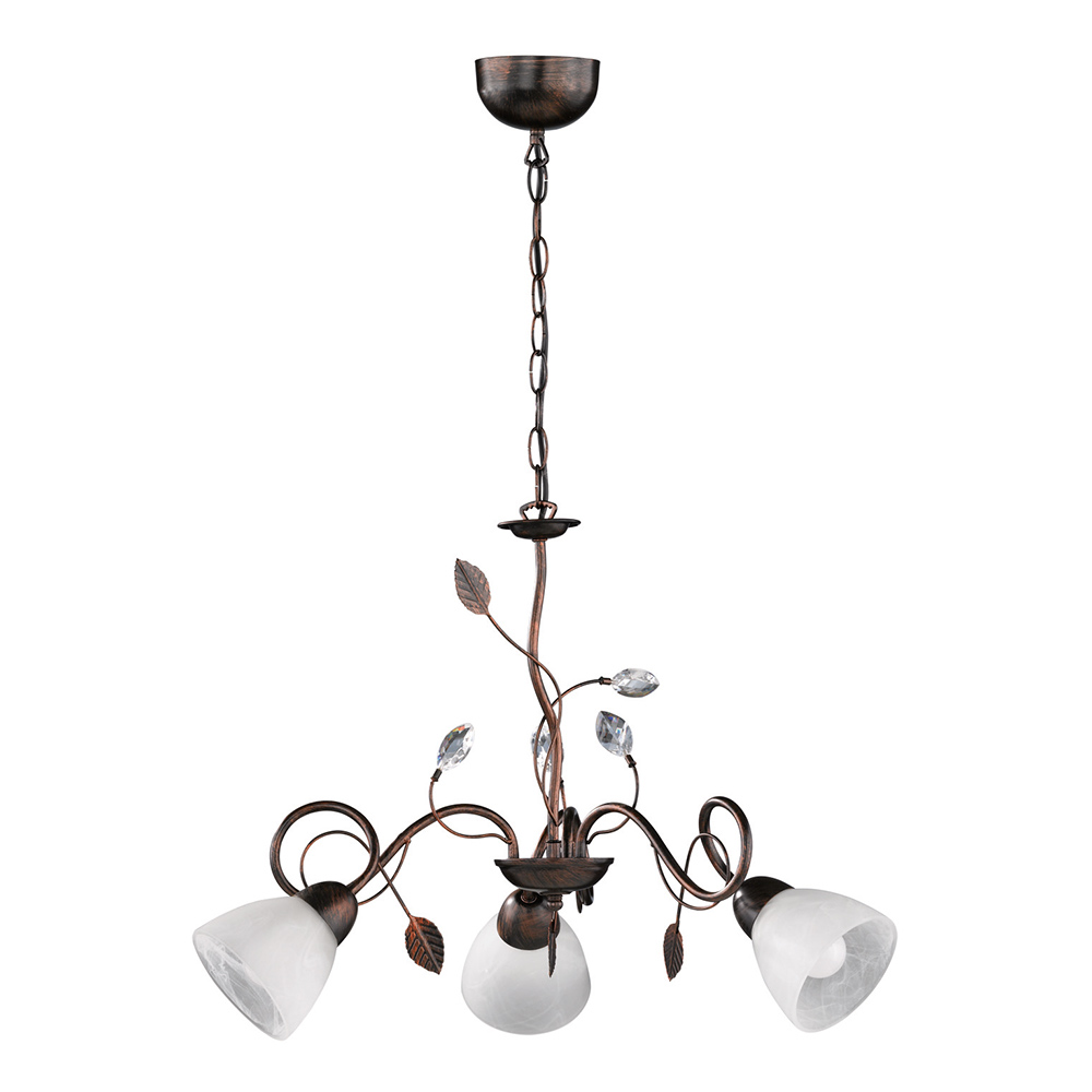3 Lamp Traditio Chandelier