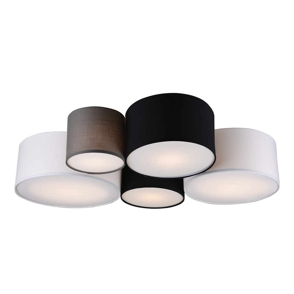 5 Lamp Hotel Ceiling Light