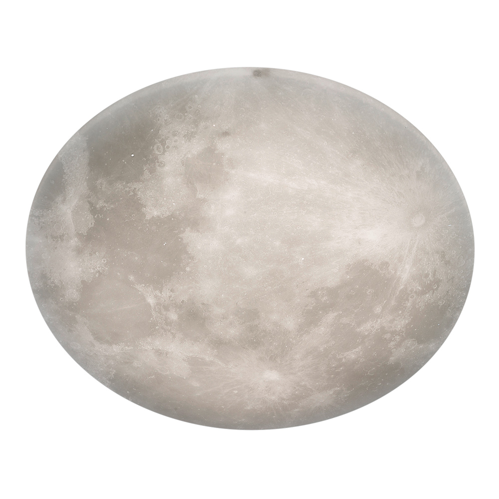 Large Lunar Ceiling Light